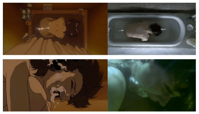 Resultado de imagem para requiem for a dream perfect blue